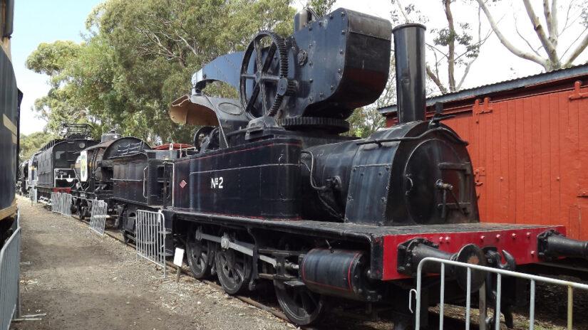 No 2 Steam Crane